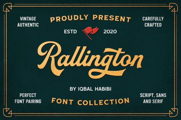 Rallington Font