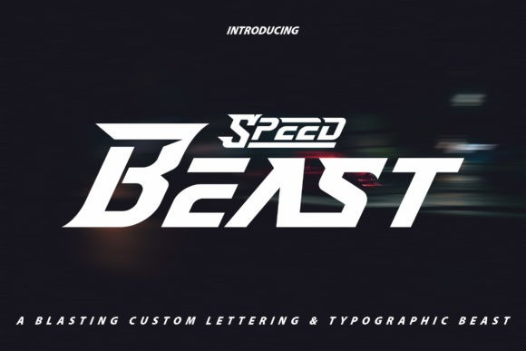 Speed Beast Font