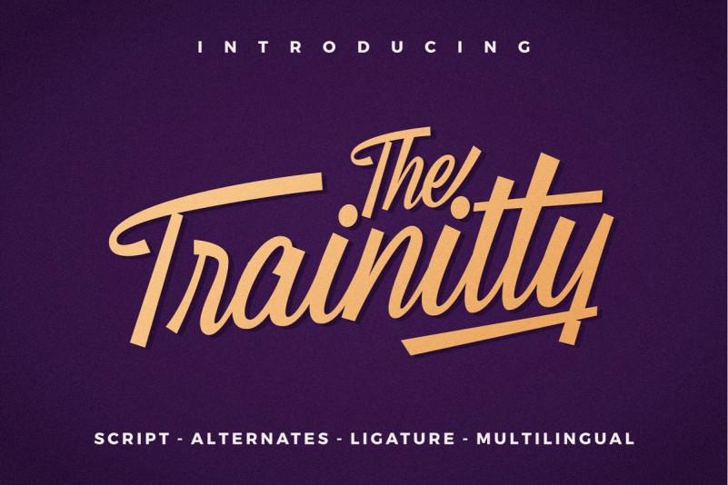 Trainity Font