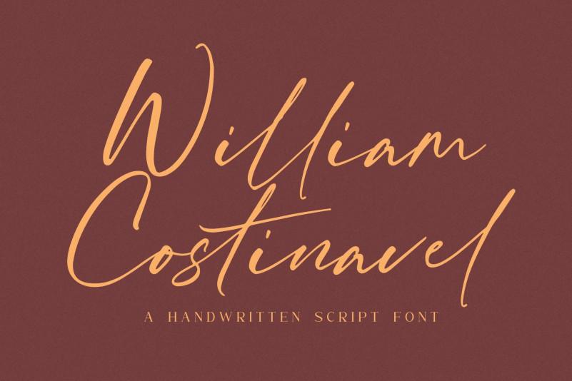William Costinavel Font