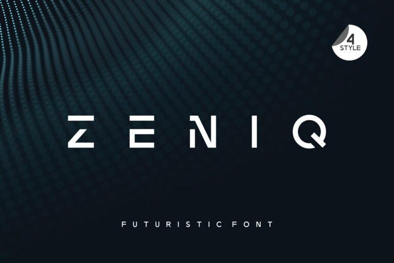 Zeniq Font