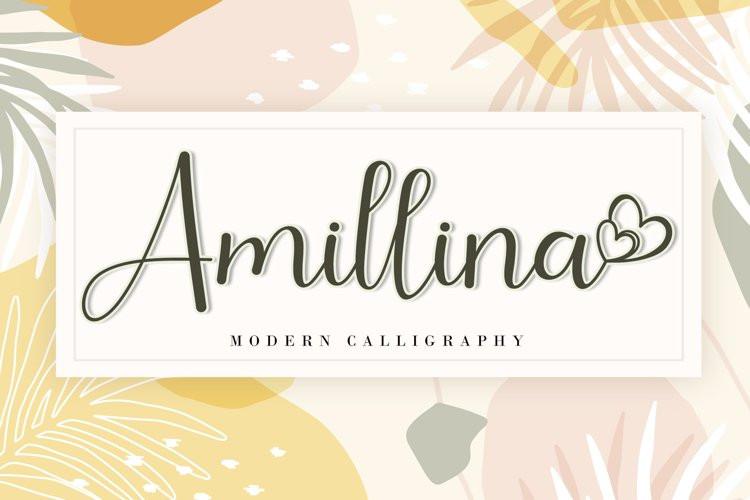 Amillina Font