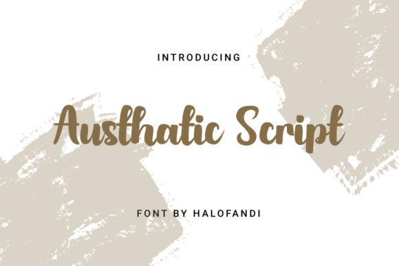 Austhatic Font