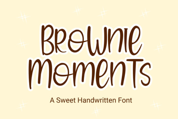 Brownie Moments Font