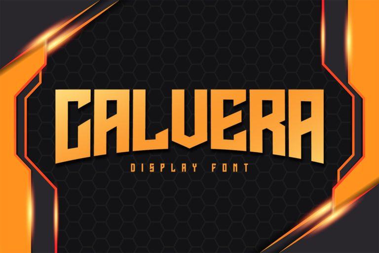 Calvera Font