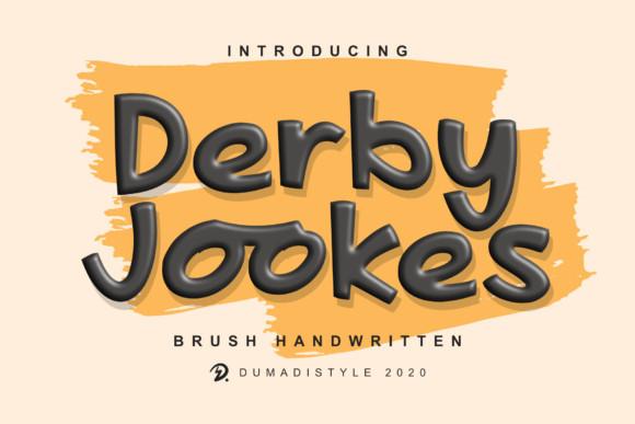 Derby Jookes Font