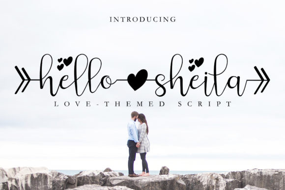 Hello Sheila Font