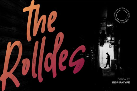The Rolldes Font