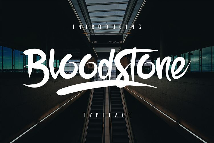 Bloodston Font