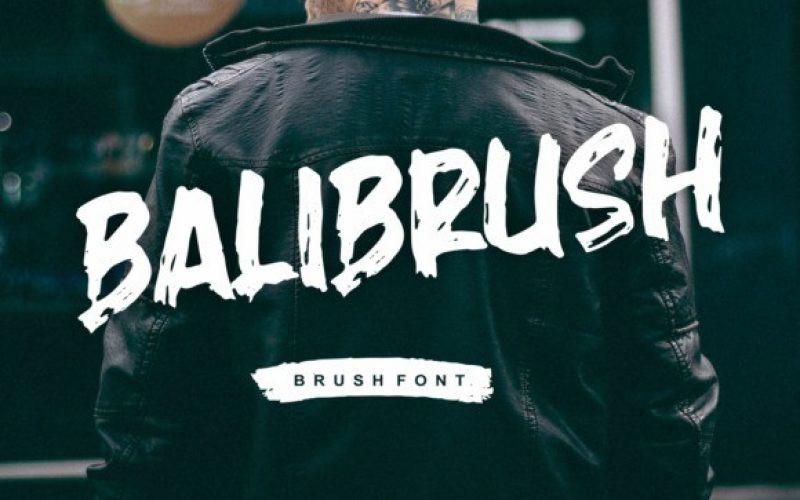 Balibrush Font