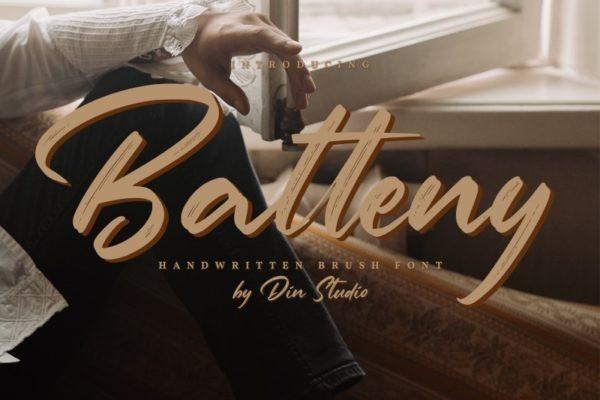 Batteny Font
