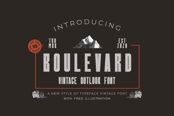 Boulevard Font