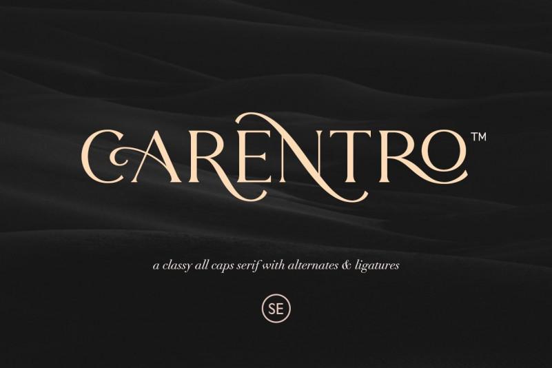 Carentro Font