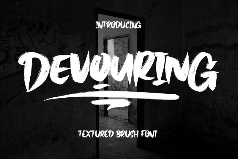 Devouring Font