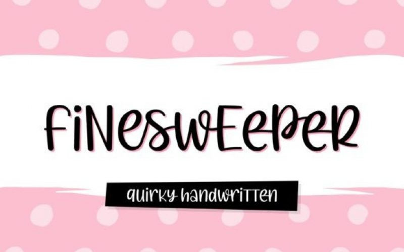 Finesweeper Font