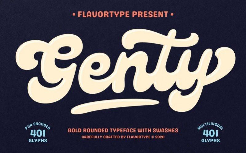 Genty Font