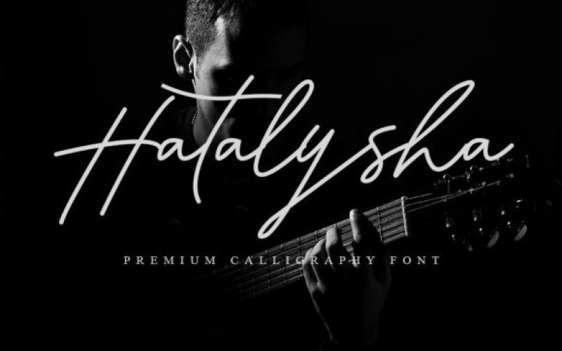 Hatalysha Font