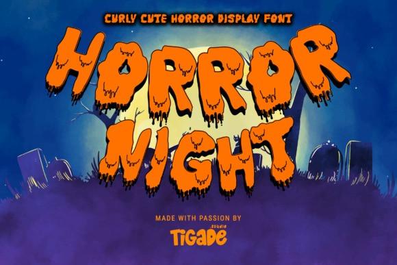Horror Night Font