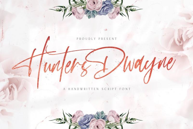 Hunthers Dwayne Font