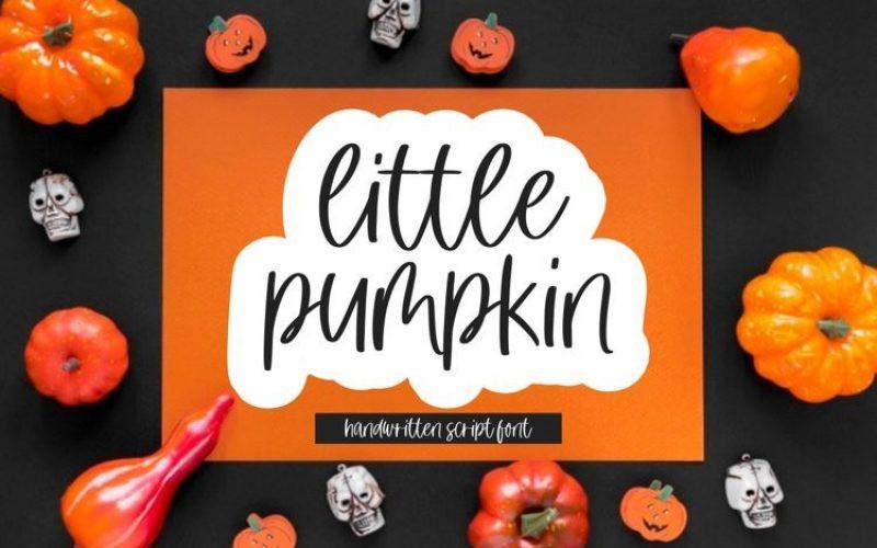 little pumpkin Font