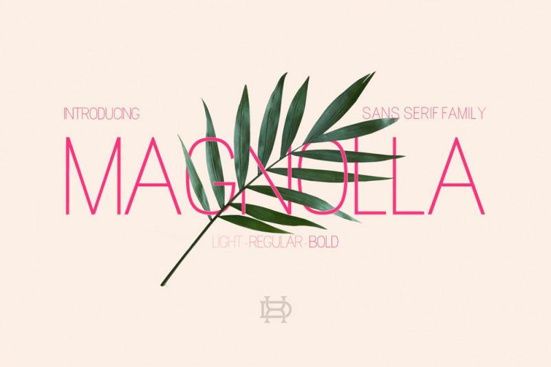 Magnolla Font