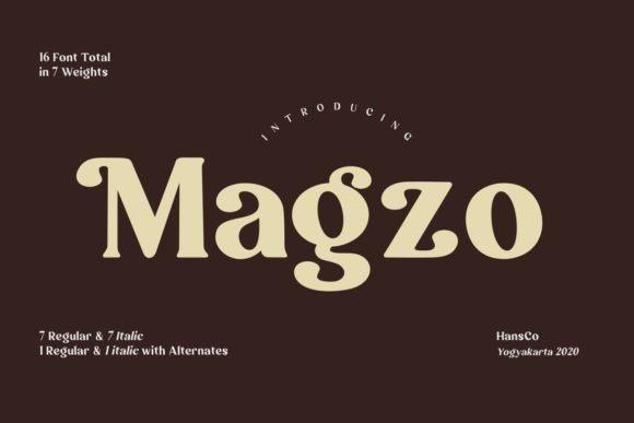 Magzo Font