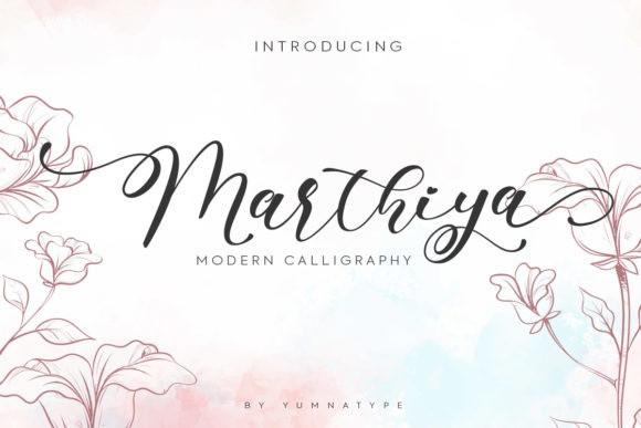 Marthiya Font
