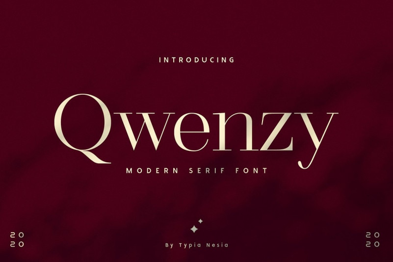 Qwenzy Font
