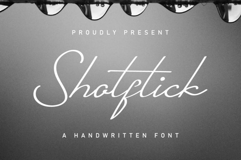 Shotflick Font