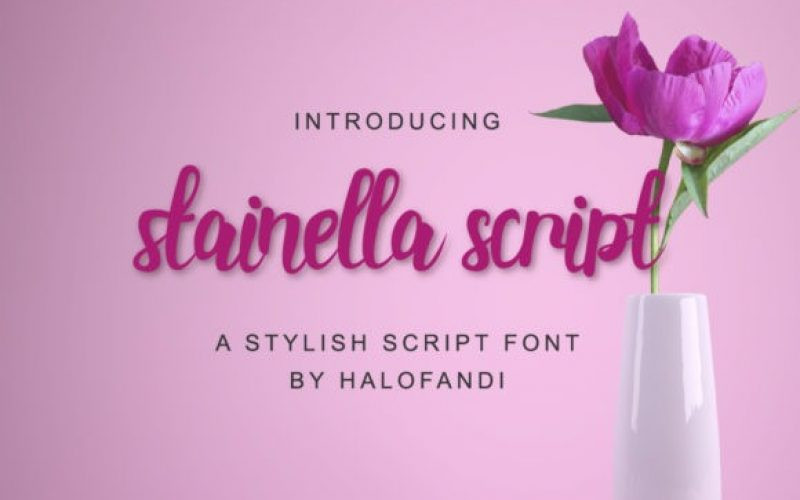Stainella Font