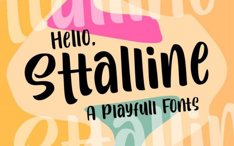 Sttalline Font