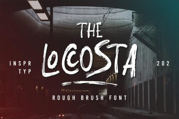 The Locosta Font