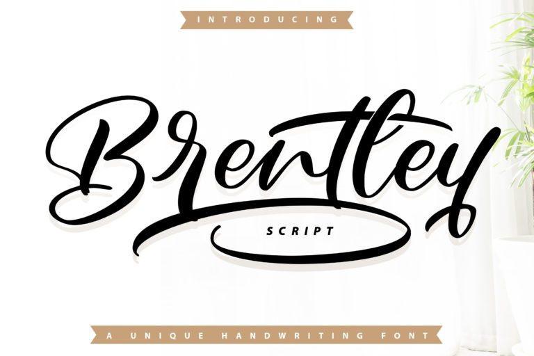 Brentley Font