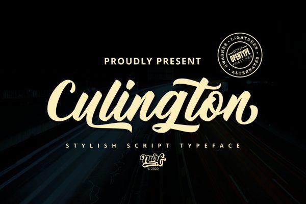 Culington Font