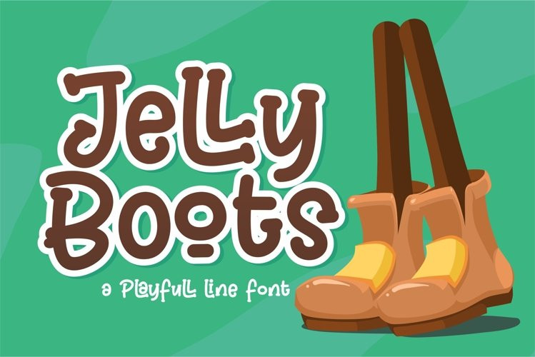 Jelly Boots Font