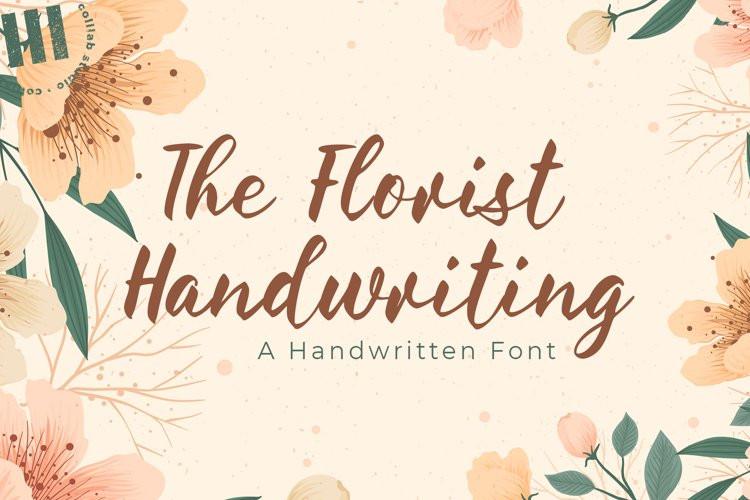 The Florist Font