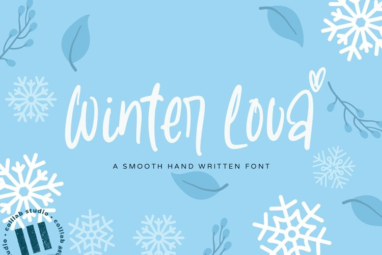 Winter Lova Font