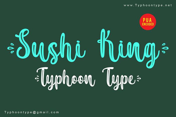 Sushi King Font