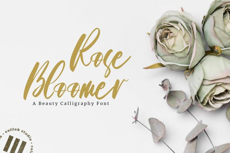 Rose Bloomer Font