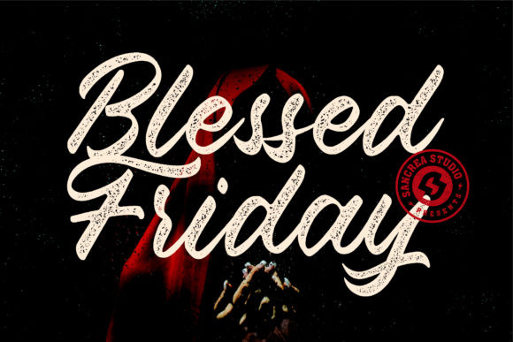 Blessed Friday Font
