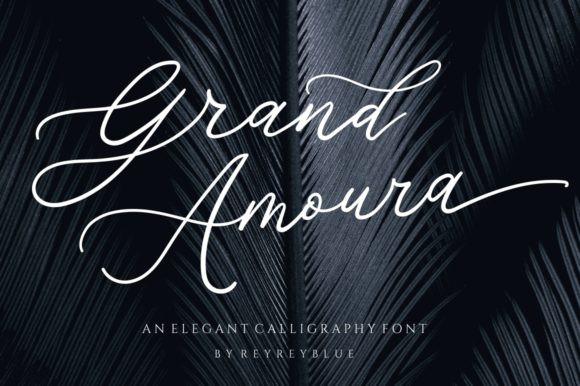 Grand Amoura Font