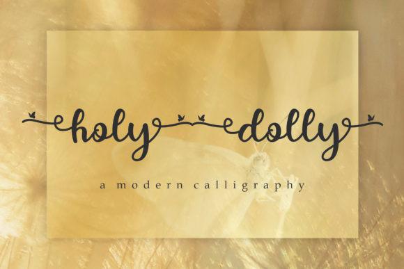 Holy Dolly Font