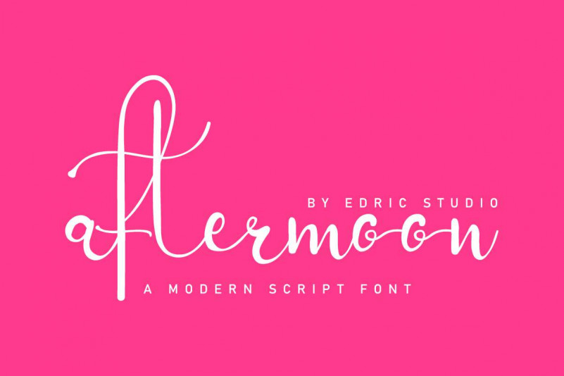 Aftermoon Font