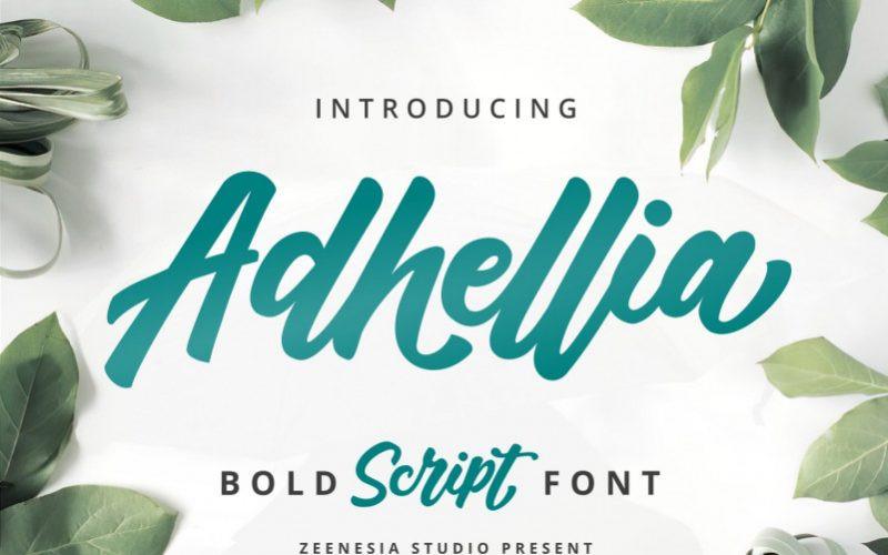 Adhellia Font