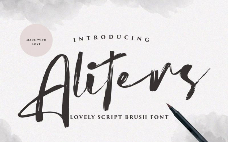 Aliters Font