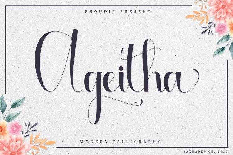 Ageitha Font