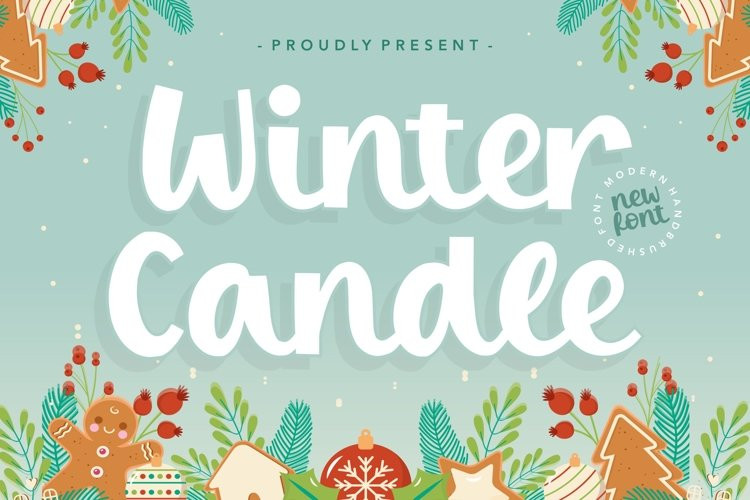 Winter Candle Font