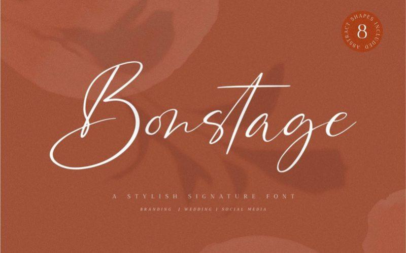 Bonstage Font