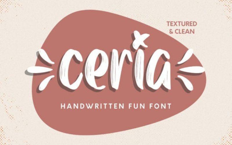 Ceria Font