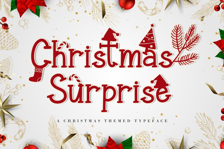 Christmas Surprise Font